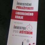 Propagační leták investičních příležitostí Libereckého kraje
