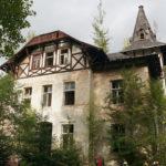 Sídlo továrníka a později bývalé oční sanatorium v Machníně Liberec