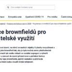 Prodloužení výzev č. 1 a 2 podprogramu Regenerace brownfieldů pro nepodnikatelské využití (MMR ČR)