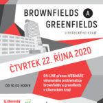 Webinář – brownfields a greenfields Libereckého kraje